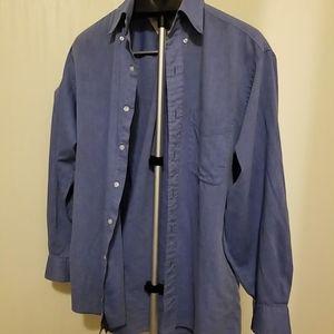 Tommy Hilfiger blue mens dress shirt